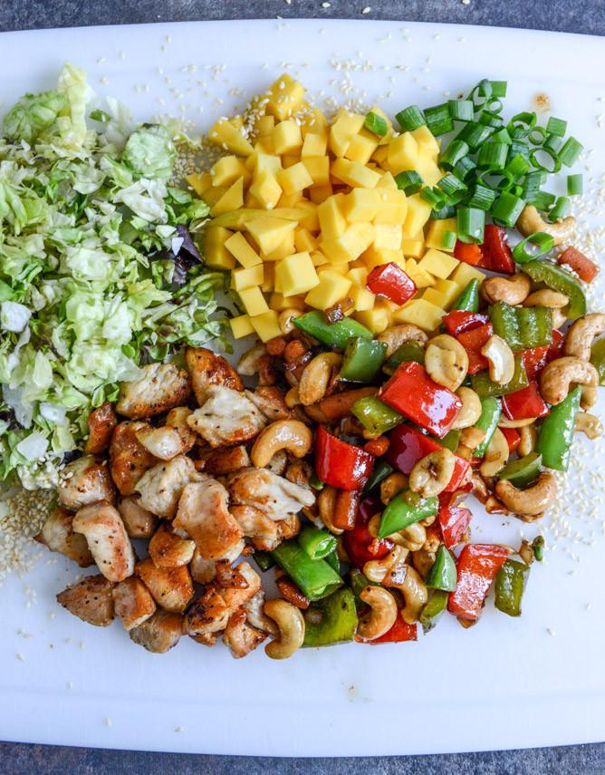 Cashew Chicken Salad  Chopped Cashew Chicken Salad