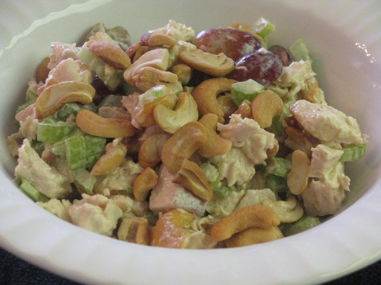 Cashew Chicken Salad  Shamrocks and Shenanigans CN s Cashew Chicken Salad Recipe