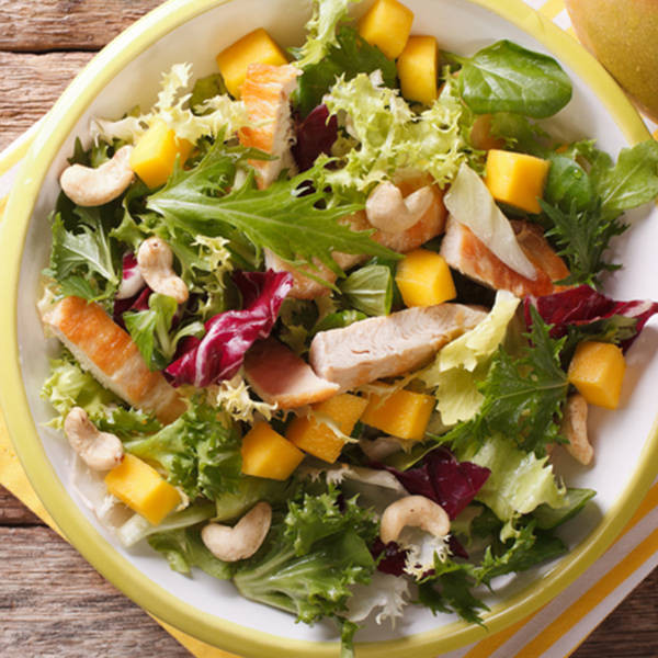 Cashew Chicken Salad  Cashew Chicken Salad Recipe How to Make Cashew Chicken Salad