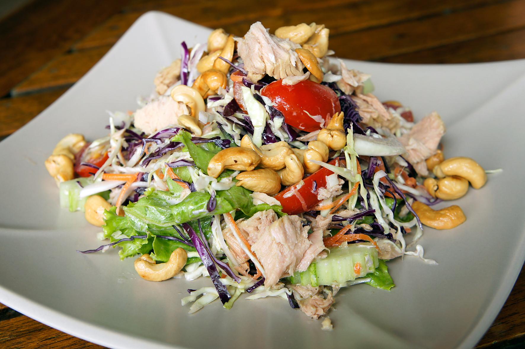 Cashew Chicken Salad  File Cashew chicken salad Thailand Wikimedia mons