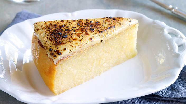 Cassava Cake Recipe  Cassava cake recipe SBS Food