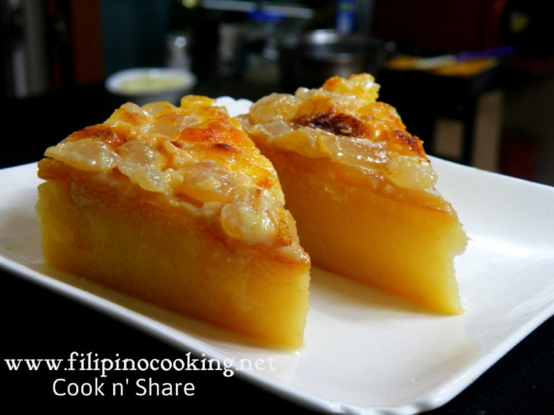 Cassava Cake Recipe  Cassava Cake