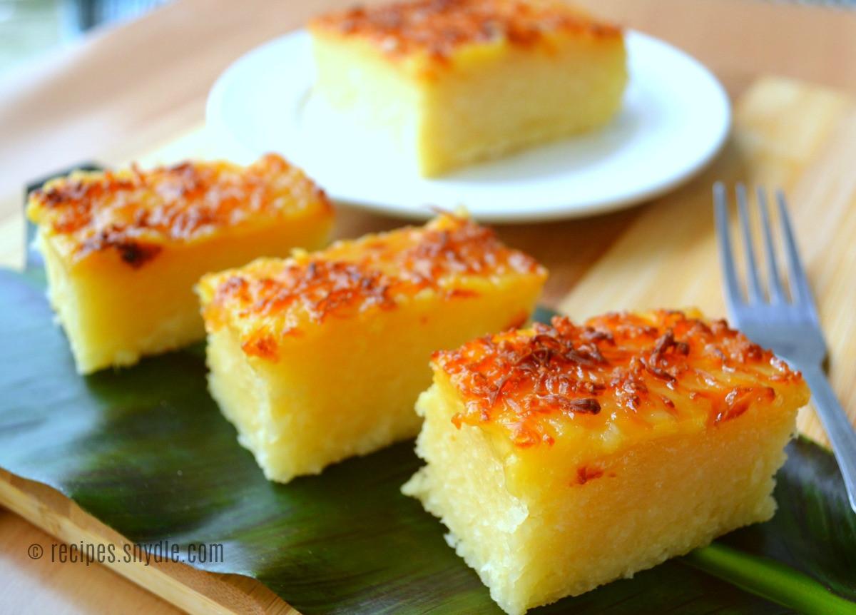 Cassava Cake Recipe  Cassava Cake Recipe Yummy Recipes