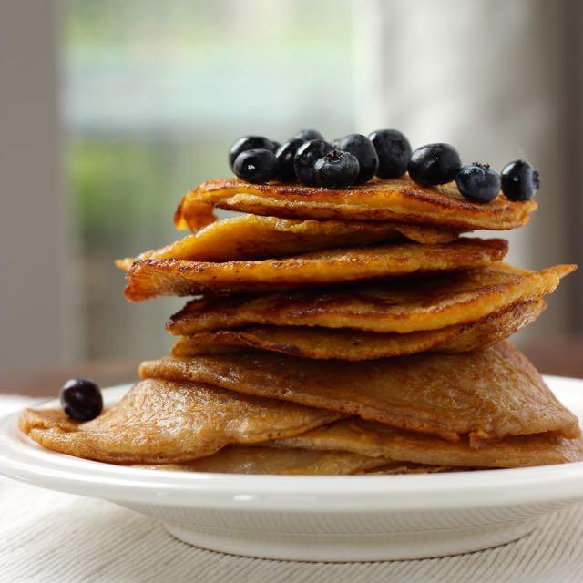 Cassava Flour Pancakes  Cassava Pancakes Recipe