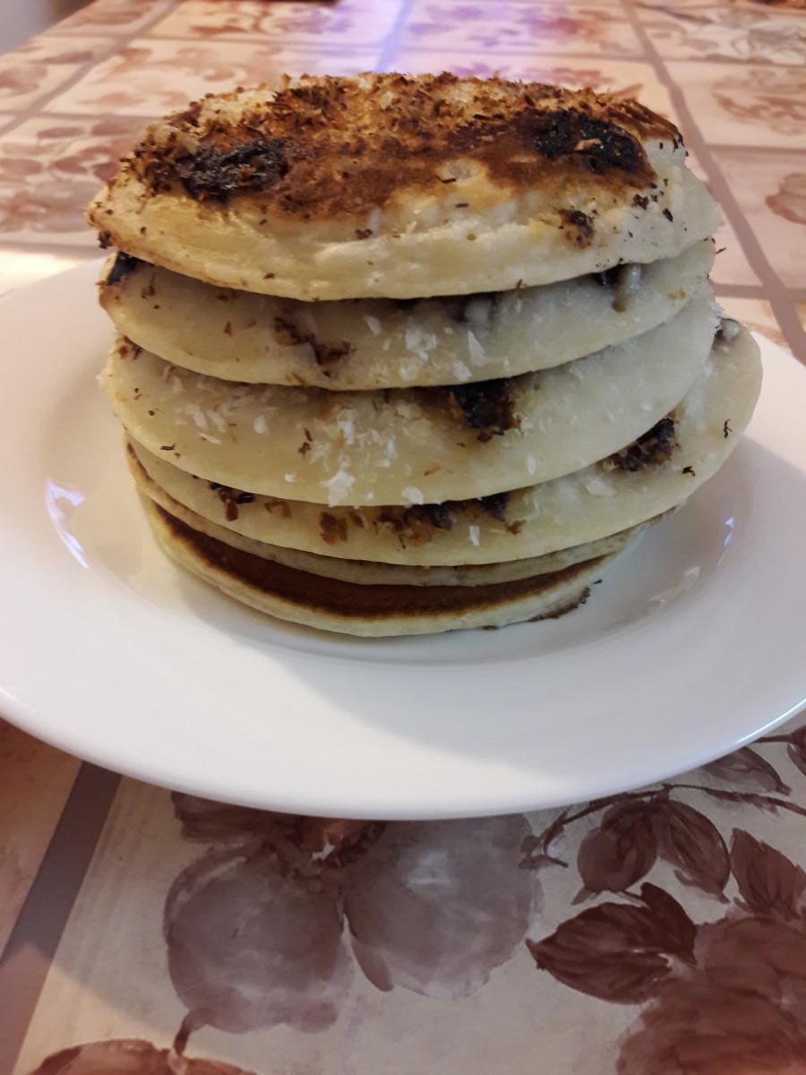 Cassava Flour Pancakes  4 Ingre nts Vegan Cassava Flour Pancakes – Lazy Happy Me