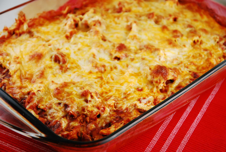 Casserole Recipes With Chicken  Chicken Tamale Casserole Recipe 6 Points LaaLoosh