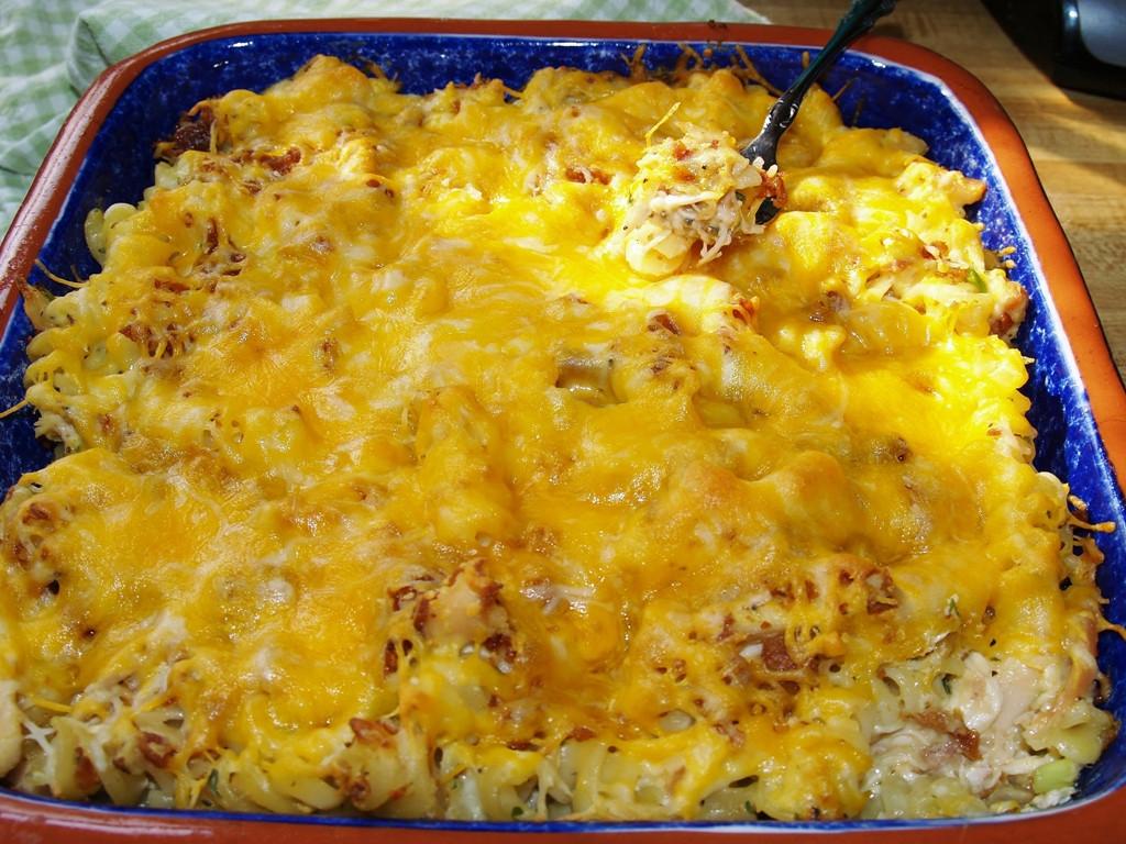 Casserole Recipes With Chicken  Rotisserie Chicken Casserole Kelli s Kitchen