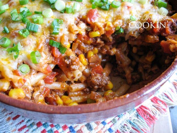 Casserole With Ground Beef  southwestern casserole ground beef