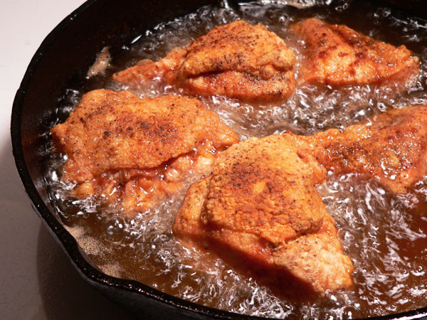 Cast Iron Fried Chicken  Southern Fried Chicken Taste of Southern