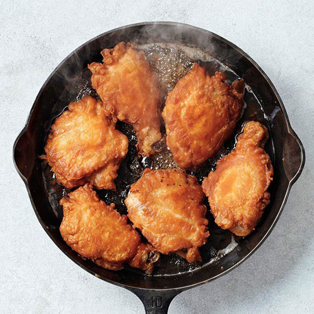 Cast Iron Fried Chicken  22 Insanely Delicious Recipes to Make in Your Cast Iron