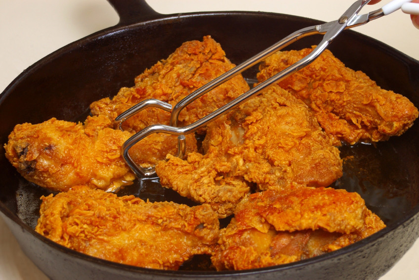 Cast Iron Fried Chicken  This is the Best Clucking Fried Chicken in Las Vegas