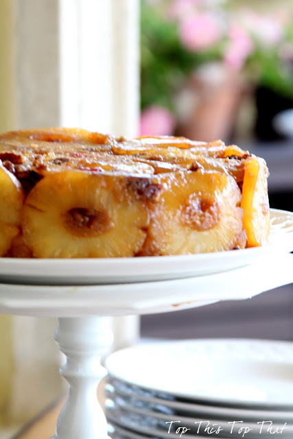 Cast Iron Skillet Pineapple Upside Down Cake  The Best Pineapple Upside Down Cake You Will Ever Eat