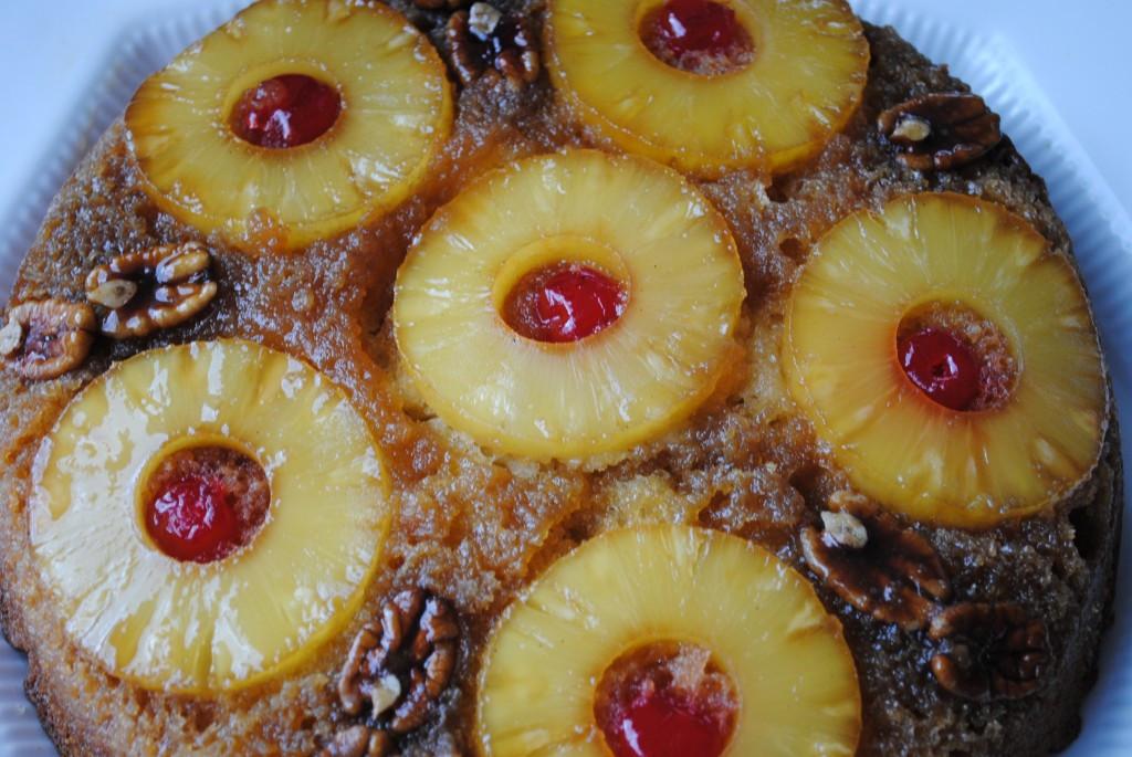 Cast Iron Skillet Pineapple Upside Down Cake  Pineapple Upside Down Cake in Cast Iron Skillet Glory