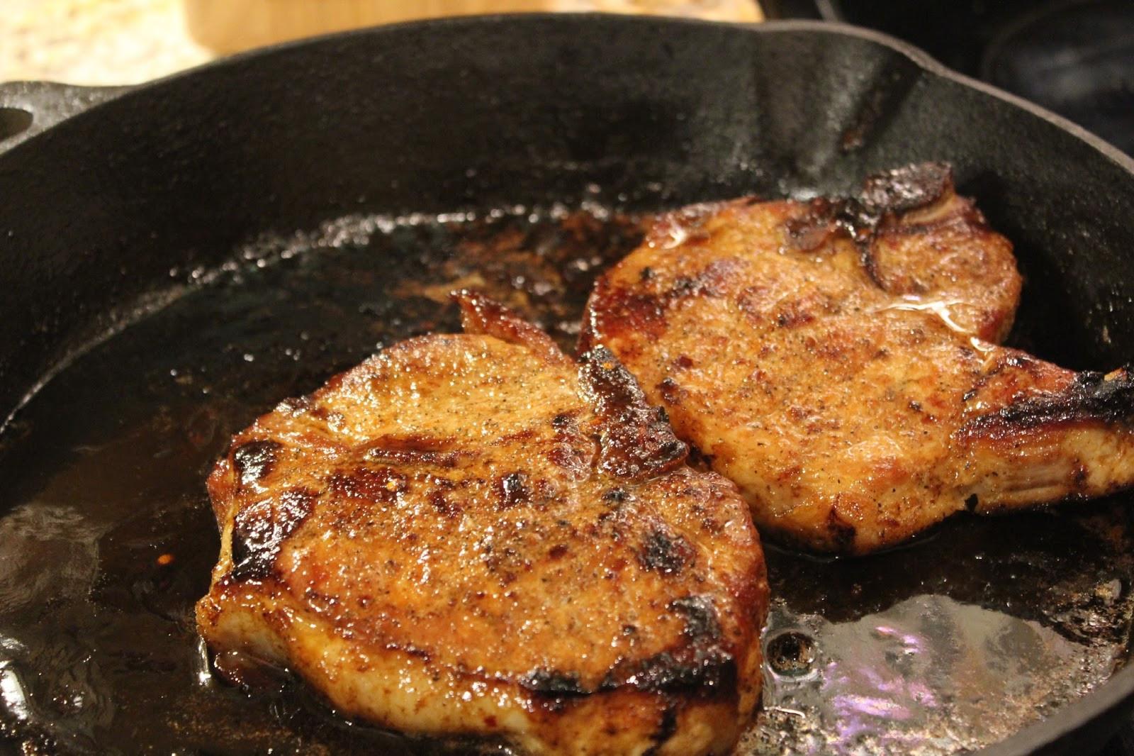 Cast Iron Skillet Pork Chops  Magnolia & Main Recipe Cast Iron Garlic & Brown Sugar