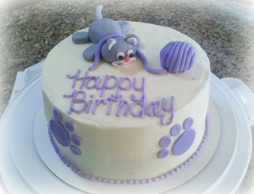 Cat Birthday Cake  Happy Birthday Lexxi Gynoid SLUniverse Forums