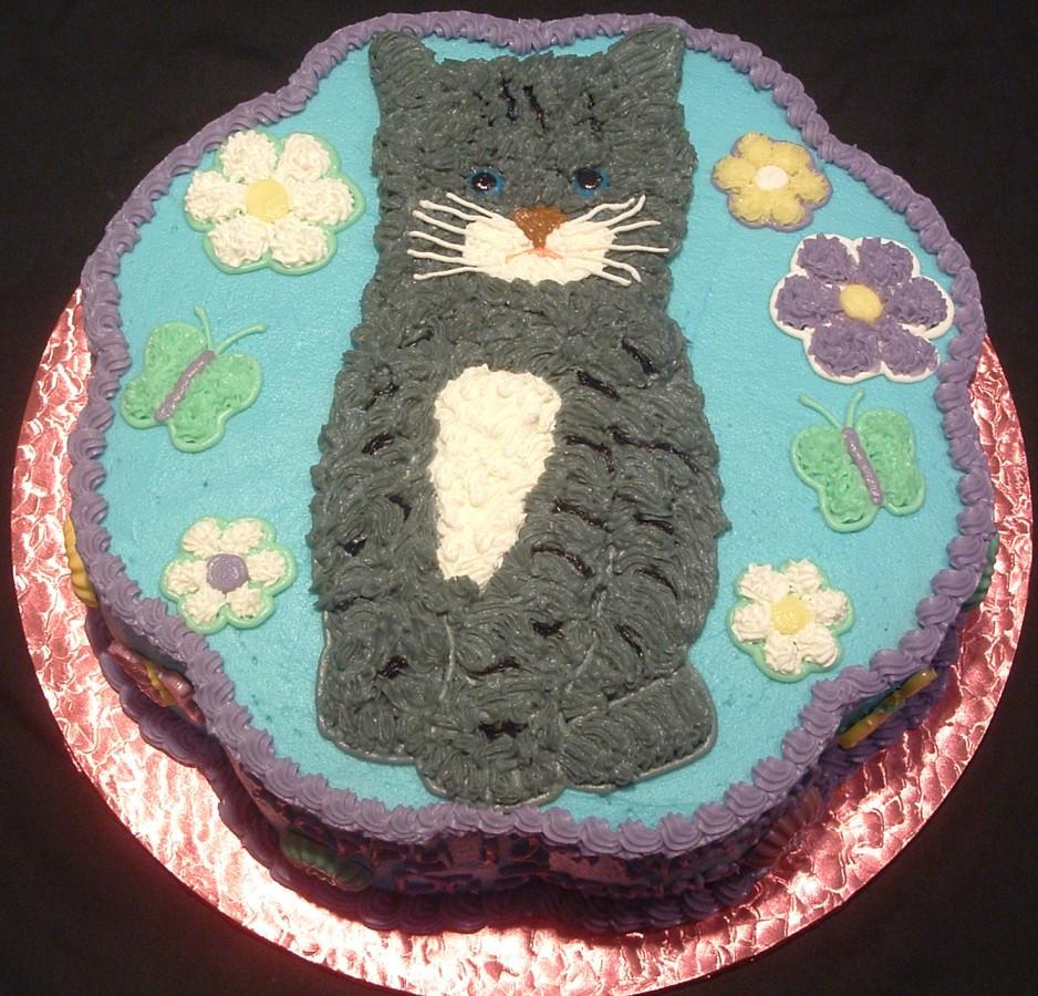 Cat Birthday Cake  Cat Cakes – Decoration Ideas