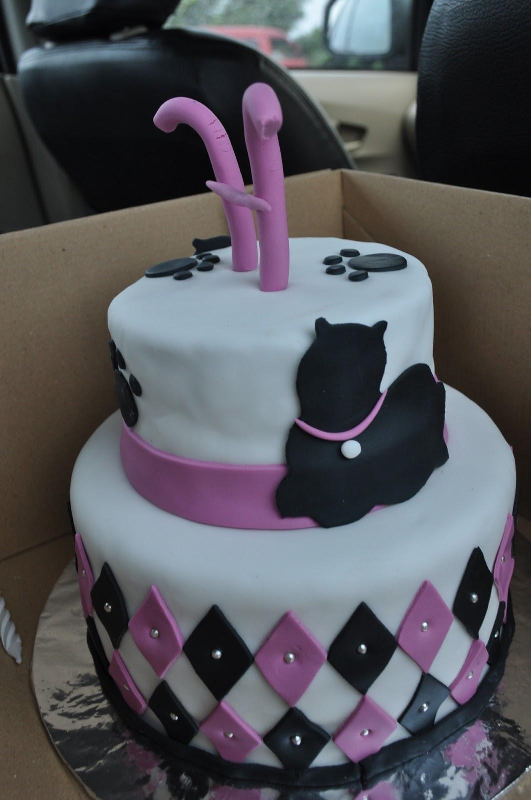 Cat Birthday Cake  momatoye Cat Themed Birthday Cake Hesty Tonkih