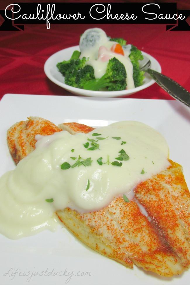 Cauliflower Cheese Sauce  Cauliflower Cheese Sauce