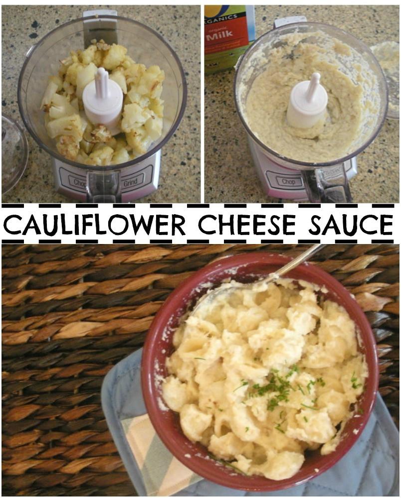 """Cauliflower Cheese Sauce  Sneaky Mom Cauliflower """" Cheese Sauce"""""""