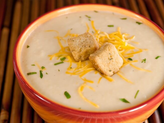 Cauliflower Cheese Soup  Cauliflower Cheese Soup Recipe