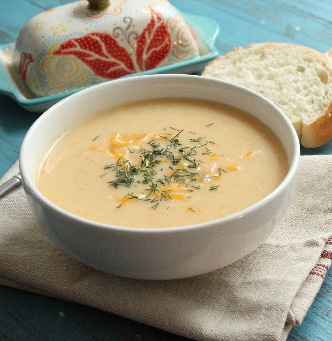 Cauliflower Cheese Soup  Cauliflower Cheese Soup II Glorious Soup Recipes