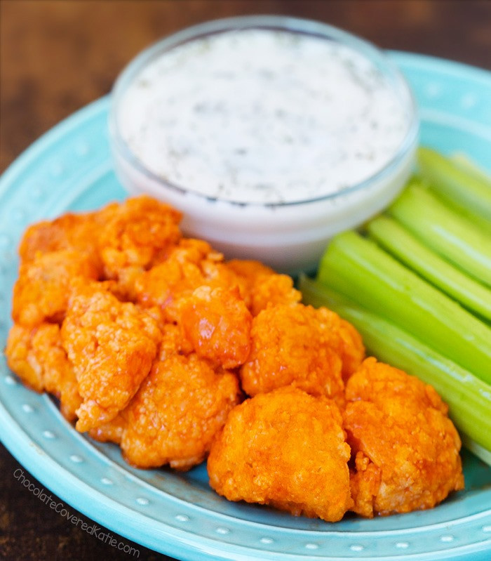Cauliflower Chicken Wings  Buffalo Cauliflower Wings Perfect For Game Day