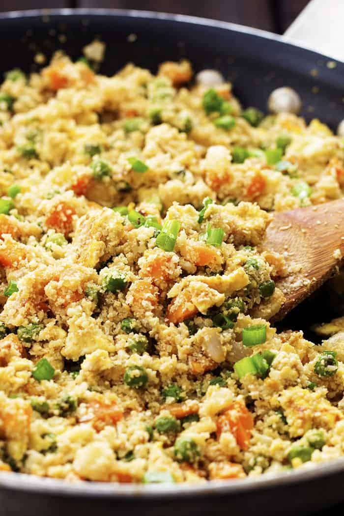 Cauliflower Fried Rice  Cauliflower Fried Rice