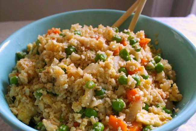 Cauliflower Fried Rice  Mock Fried Rice