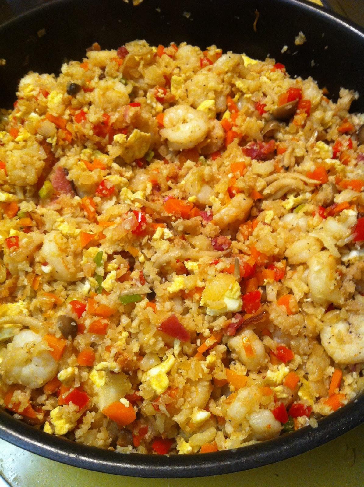 Cauliflower Fried Rice  The Accidental Chef Cauliflower Fried Rice