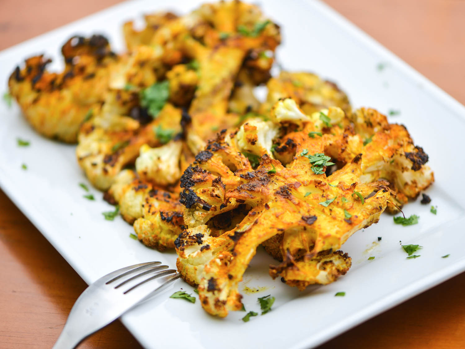 Cauliflower On The Grill  Transform Grilled Cauliflower With High Heat and a Whole