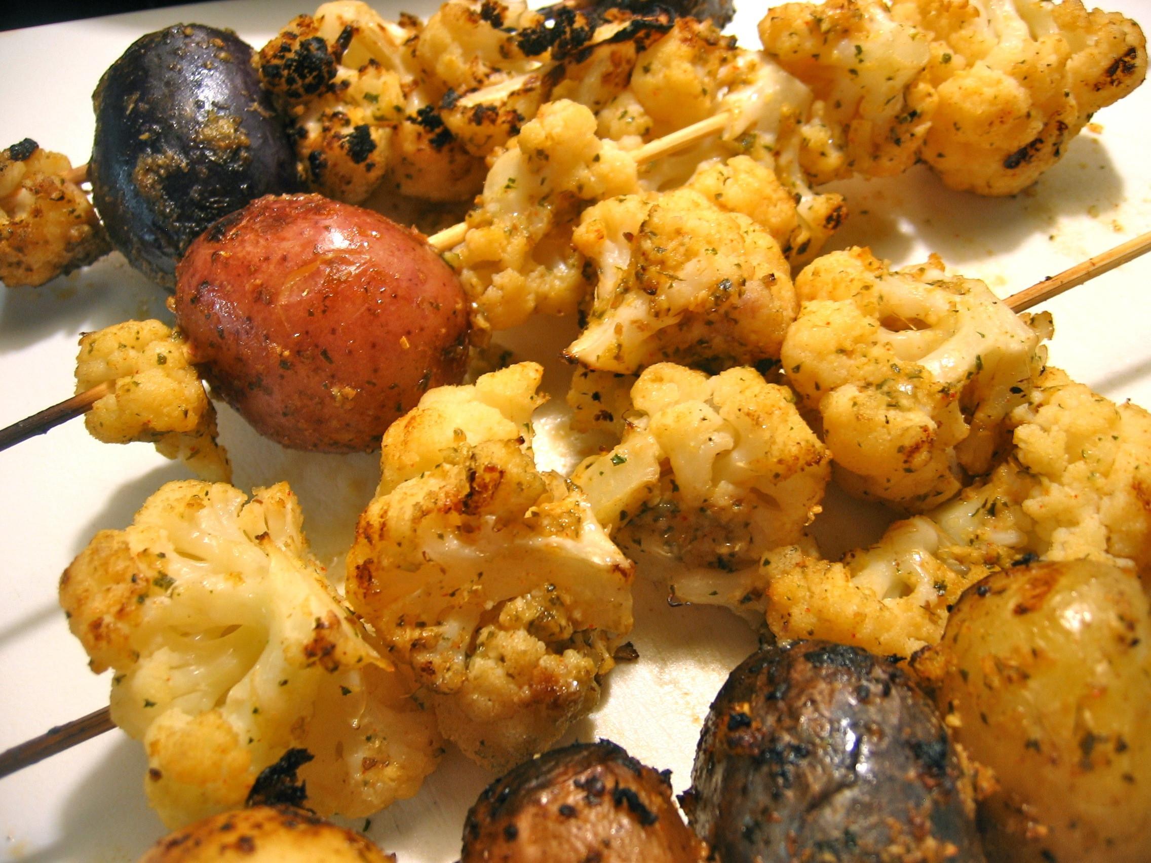 Cauliflower On The Grill  Grilled Cauliflower