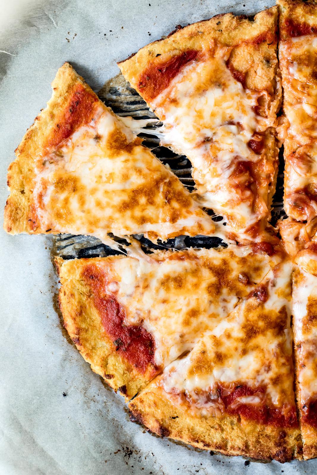 Cauliflower Pizza Crust  How to Make the Best Cauliflower Pizza Crust video