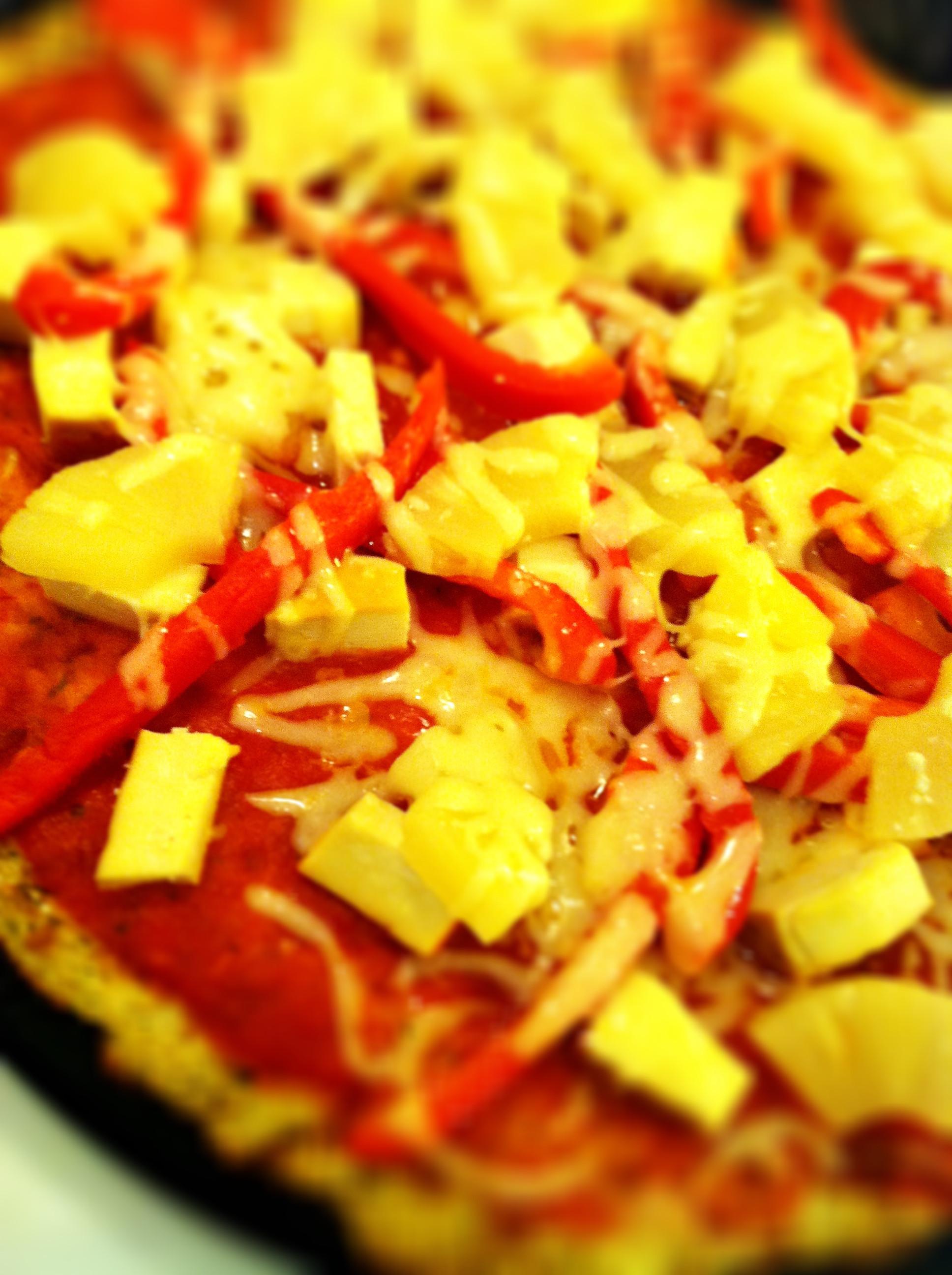 Cauliflower Pizza Crust  The Secret Life of Cauliflower pizza crust garlic