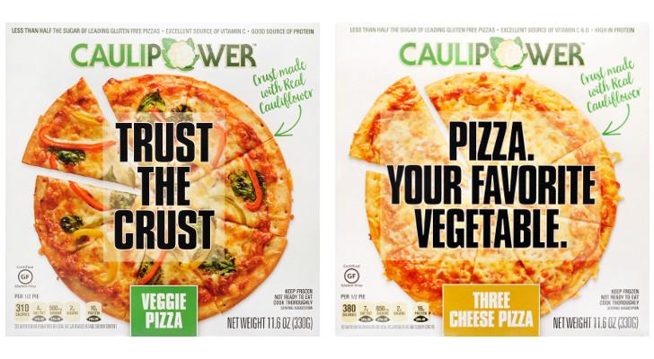 Cauliflower Pizza Crust Frozen  Caulipower Cauliflower crust Frozen Pizzas