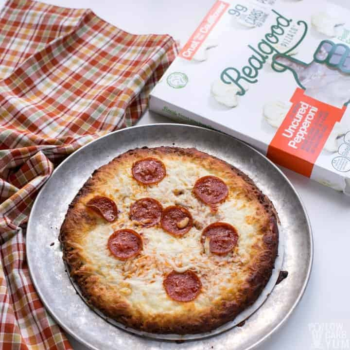 Cauliflower Pizza Crust Frozen  Frozen Cauliflower Pizza Crust Pizzas by Real Good