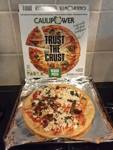Cauliflower Pizza Crust Premade  CAULIPOWER Ready to cook Cauliflower Crust Pizza Review