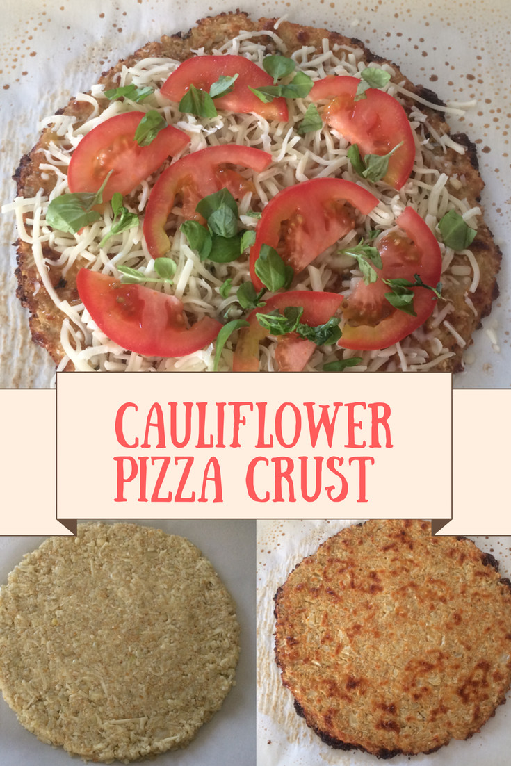Cauliflower Pizza Crust Premade  Cauliflower Pizza Crust Recipe Crazy 4 Smiths
