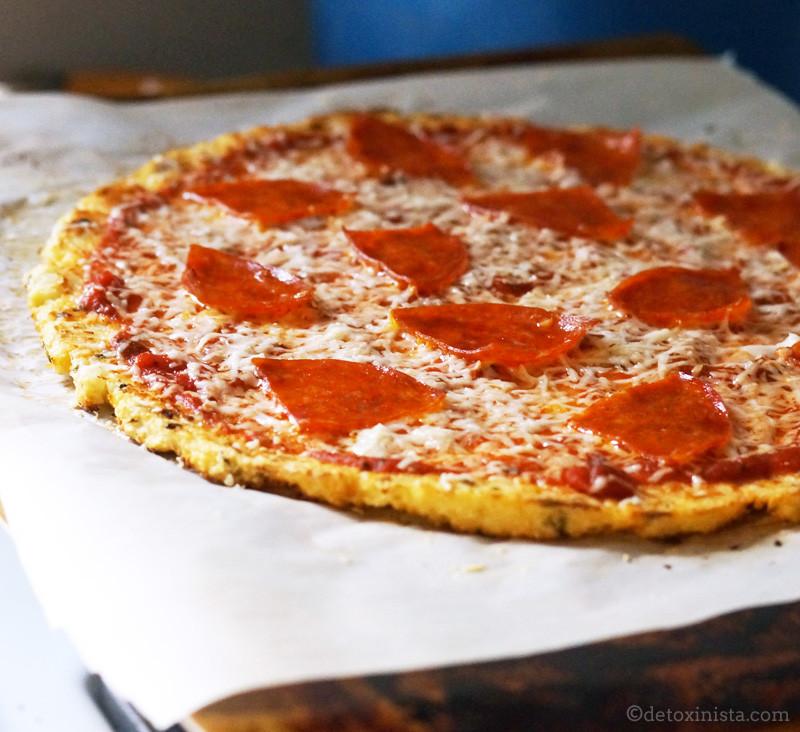 Cauliflower Pizza Crust  The Secret To Perfect Cauliflower Pizza Crust