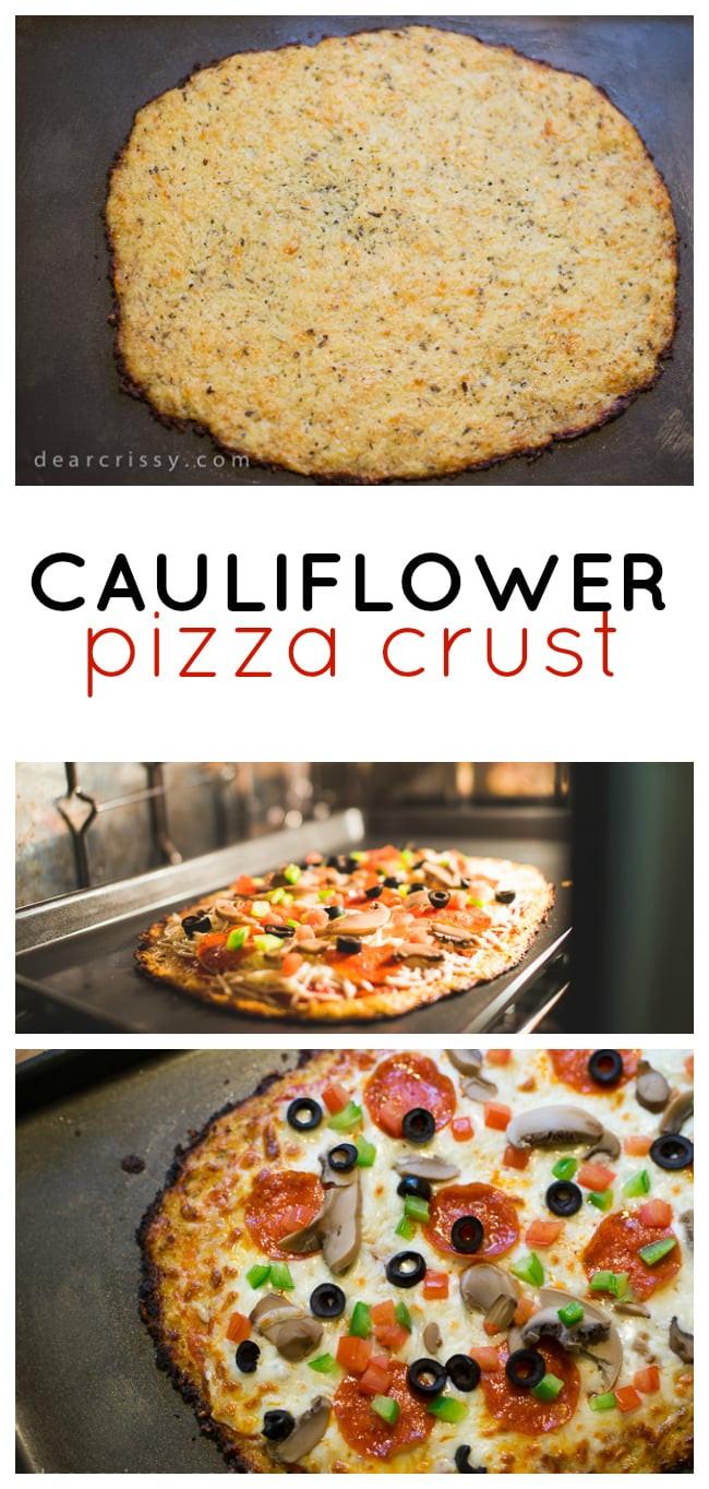 Cauliflower Pizza Crust Where To Buy  Cauliflower Pizza Crust Recipe Delicious & Healthy