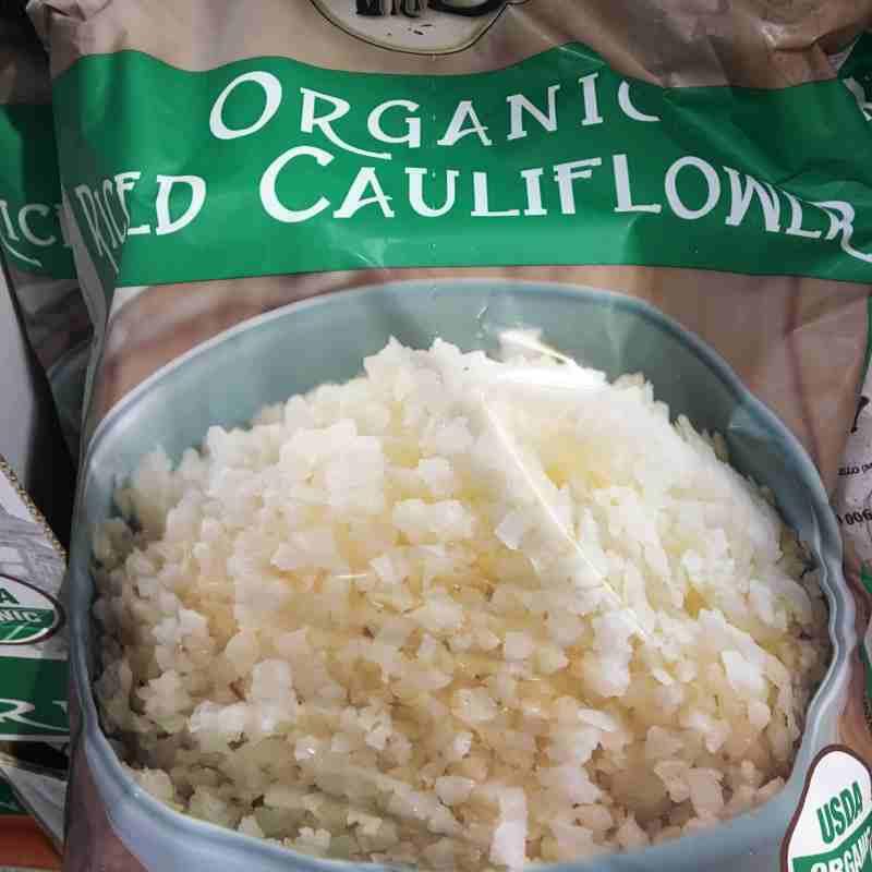 Cauliflower Rice Costco  Via Emilia Organic Riced Cauliflower frozen 4 12oz