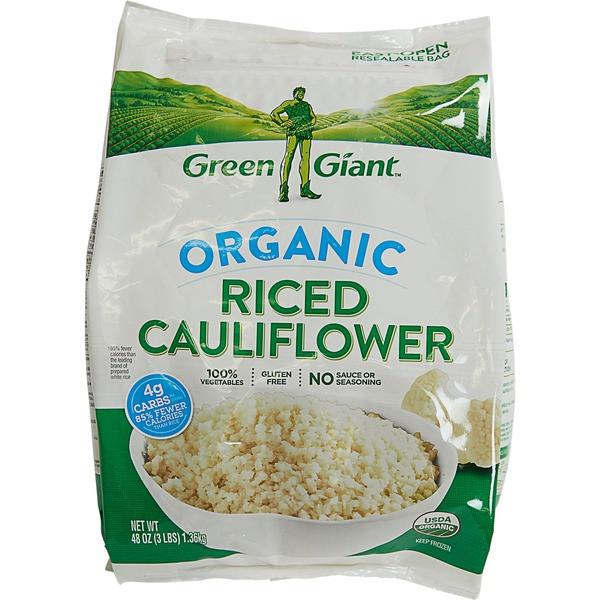 Cauliflower Rice Costco  Green Giant Organic Riced Cauliflower 48 oz from Costco