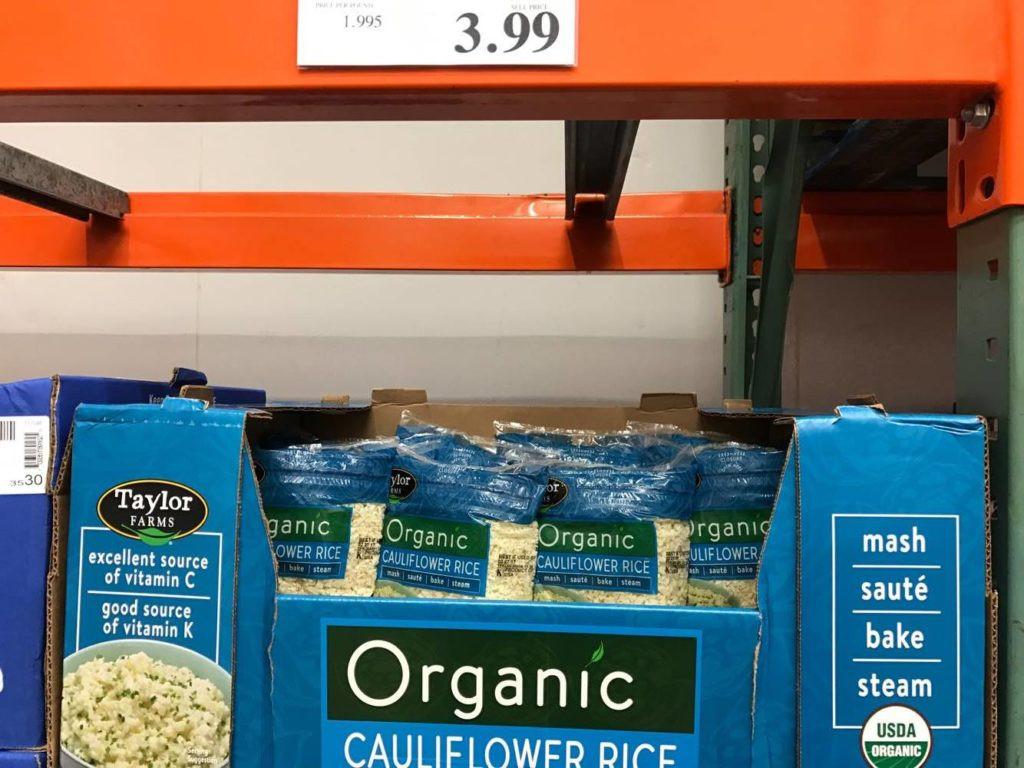 Cauliflower Rice Costco  Stuff I didn't know I needed…until I went to Costco Feb '17