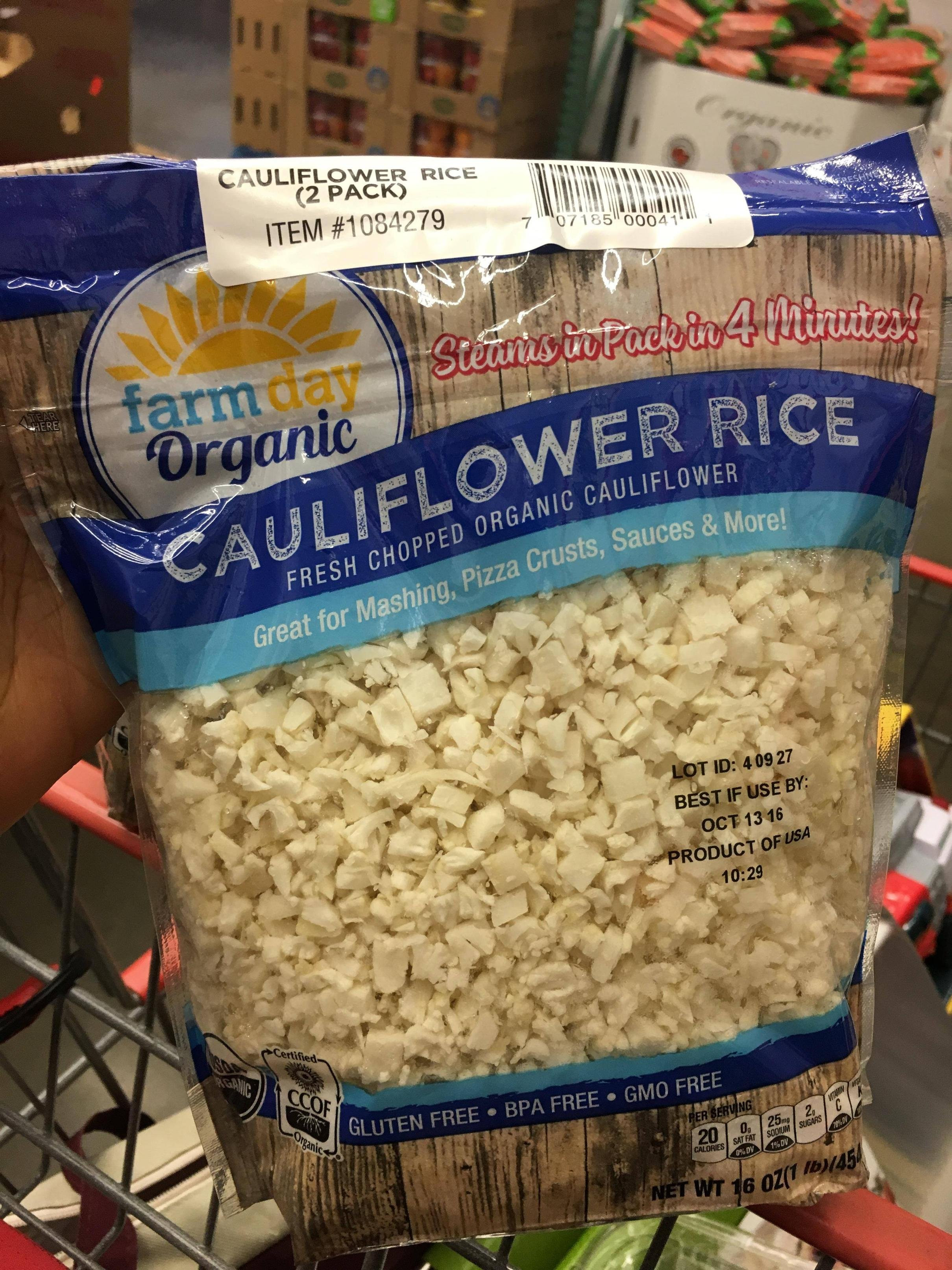 Cauliflower Rice Costco  Wifey just bought two 1 pound bags of Cauliflower rice at