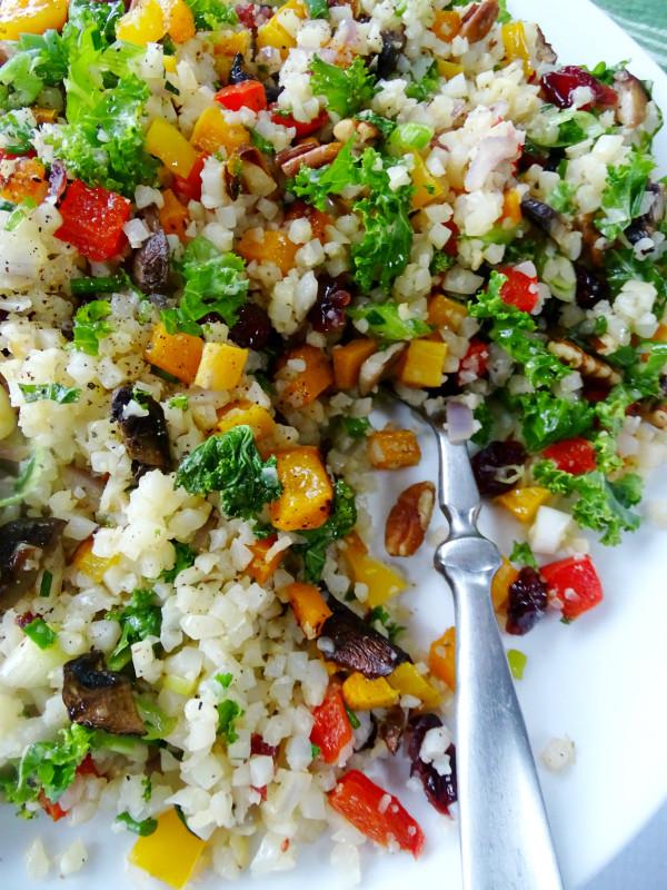 Cauliflower Rice Pilaf  Cauliflower Rice Pilaf Proud Italian Cook
