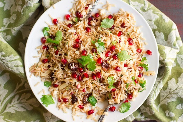 Cauliflower Rice Pilaf  Basmati & Cauliflower Rice Pilaf By OhMyVeggies