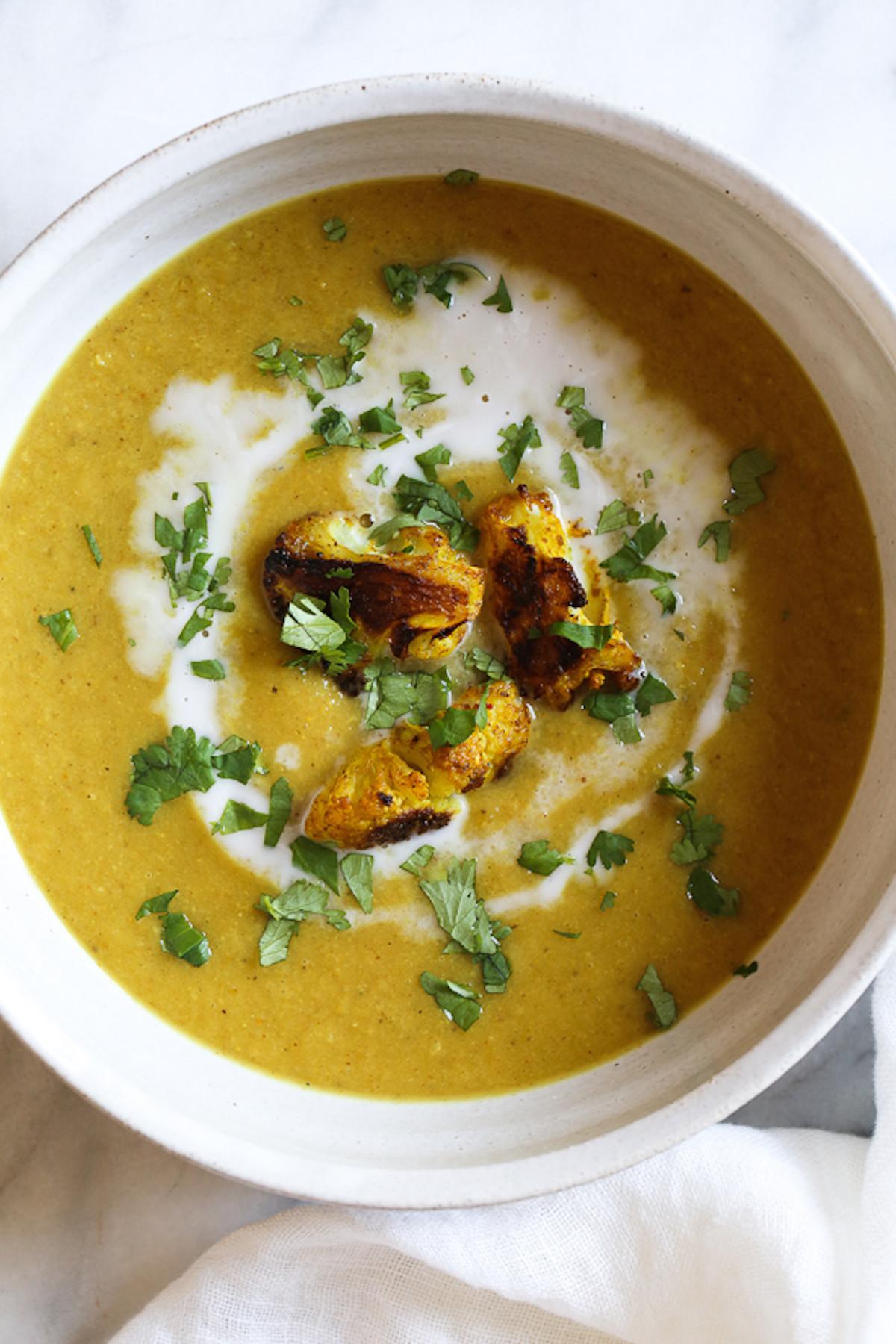 Cauliflower Soup Recipes  10 Easy Cauliflower Soup Recipes How to Make Cauliflower