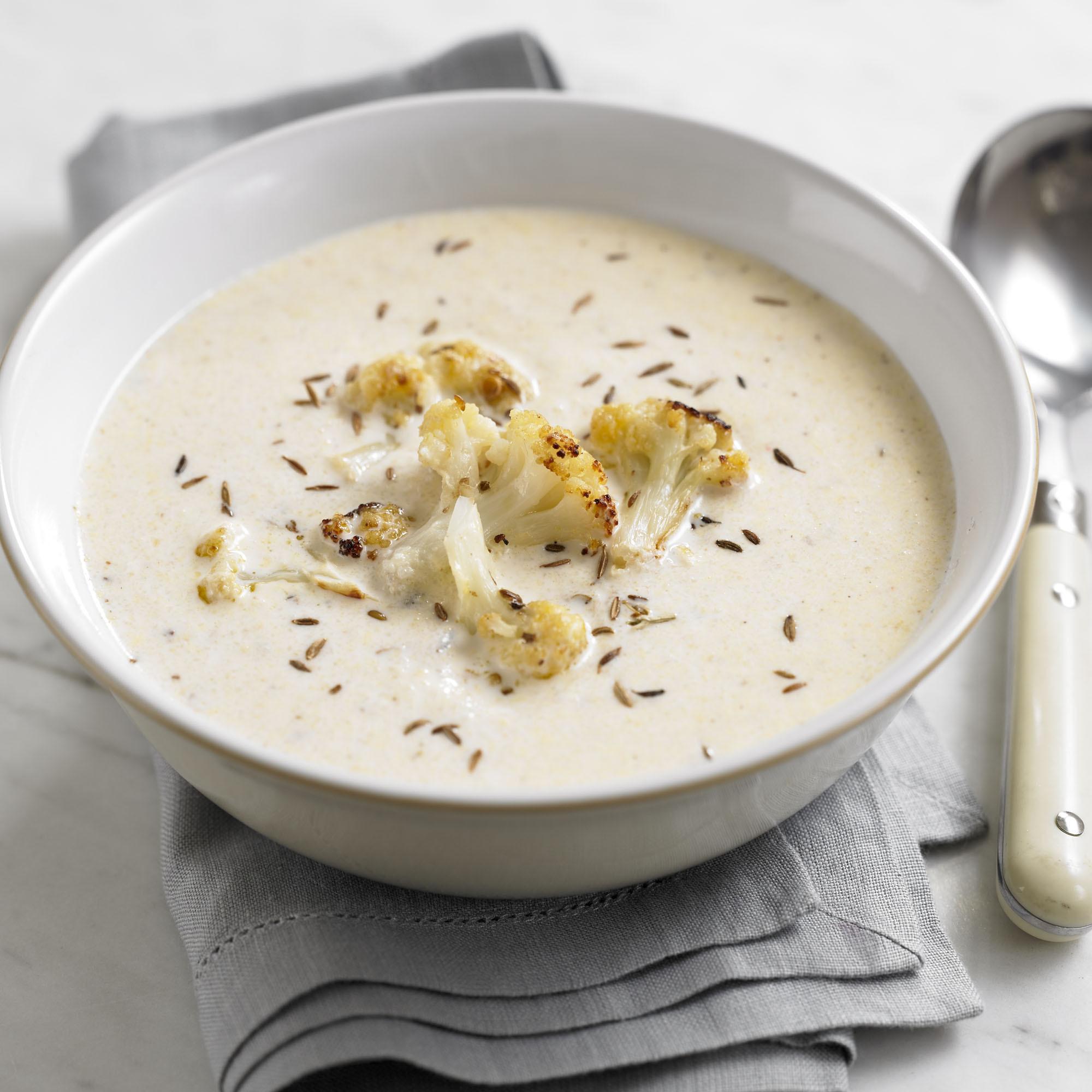 Cauliflower Soup Recipes  Roasted Spiced Cauliflower Soup Woman And Home