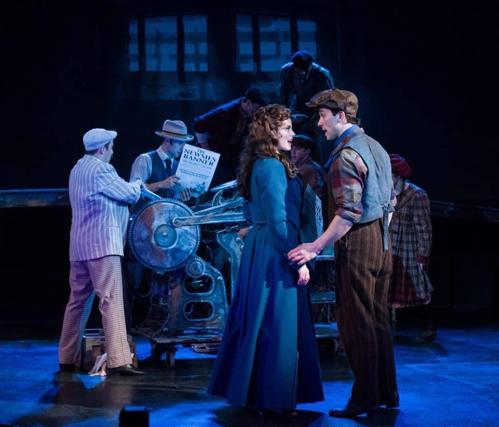 Chanhassen Dinner Theater Newsies  Review of Newsies at Chanhassen Dinner Theatres Play f