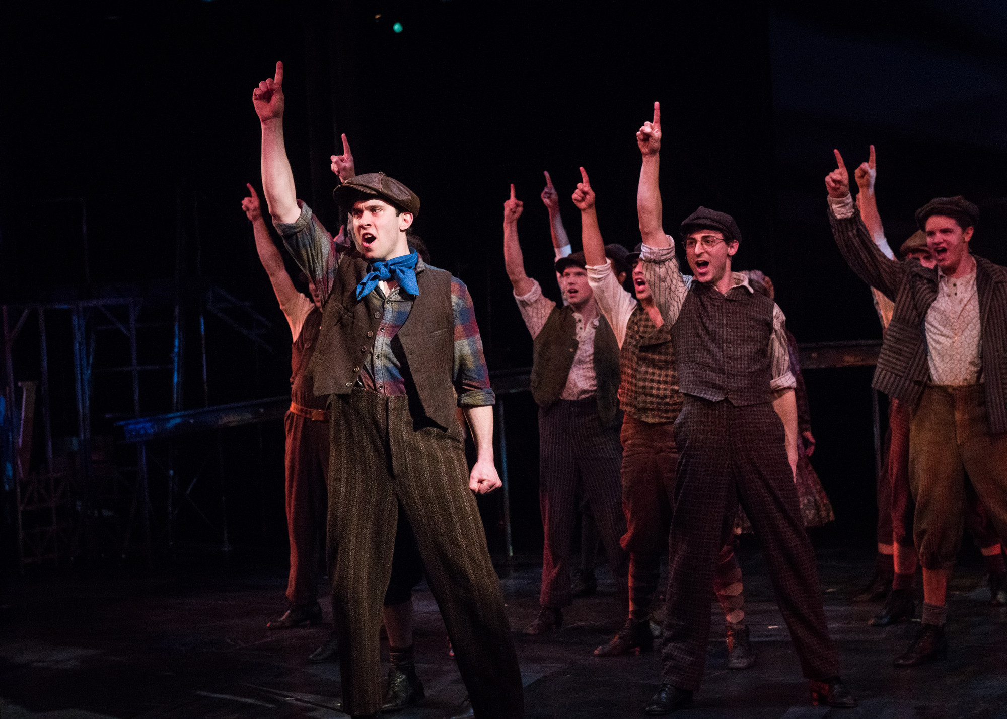 Chanhassen Dinner Theater Newsies  Star of musical Newsies dropped out of medical school to