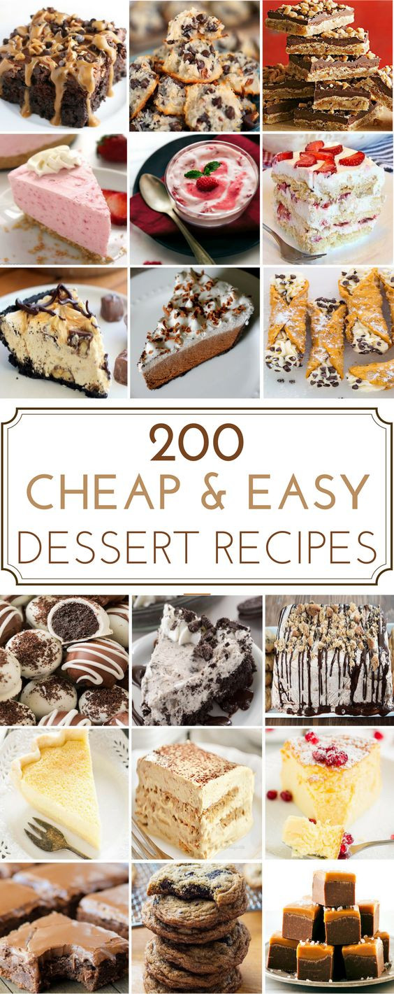 Cheap And Easy Desserts  200 Cheap & Easy Desserts